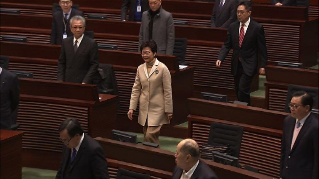 林鄭月娥:無法保證周庭未來可否參選