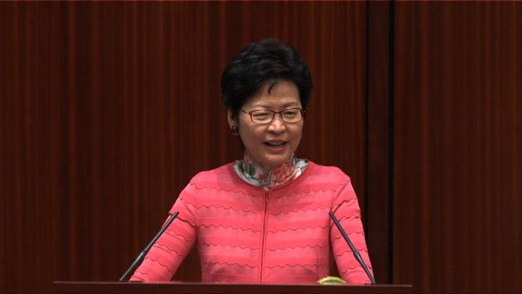 林鄭周五與多名局長訪問深圳