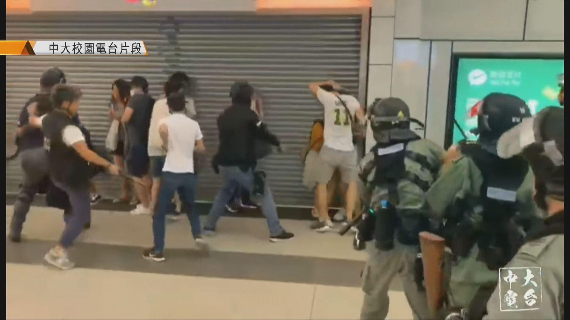 大埔迦密五學生被捕 控非法集結暫保釋