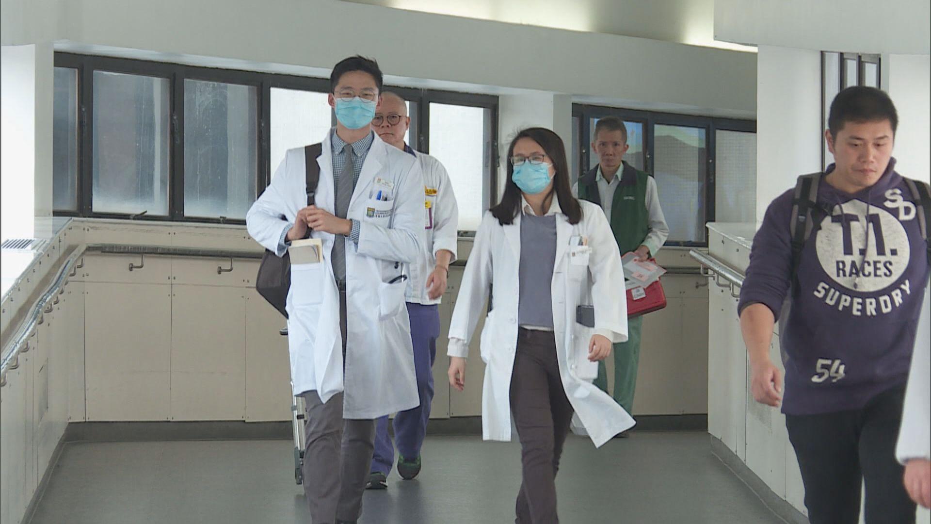 陳肇始:會議非商討個別放寬海外醫生方案