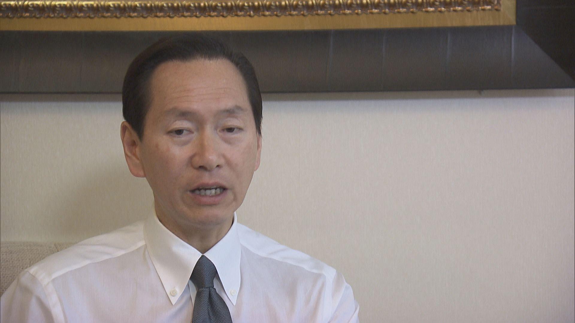 陳智思:不願看到有紀律部隊以外的人執法