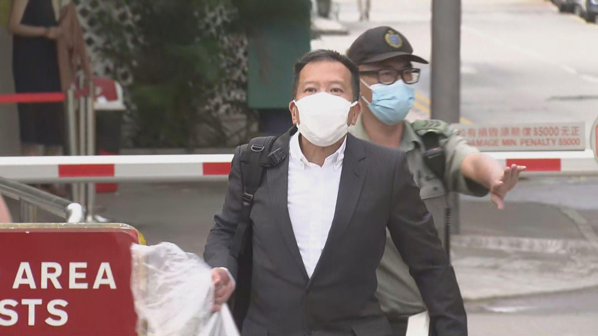 陳振聰完成刑期今早出獄