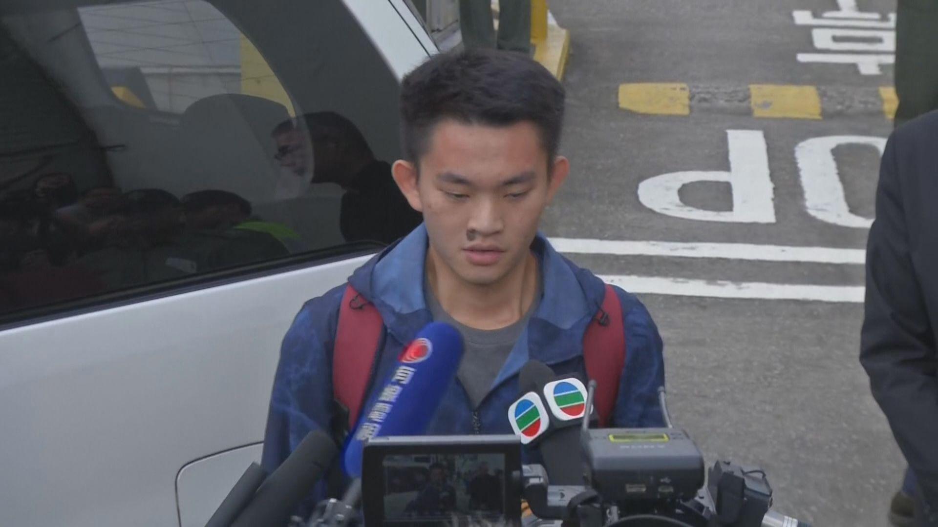 台灣律師已就陳同佳赴台向士林地檢署陳報辦理