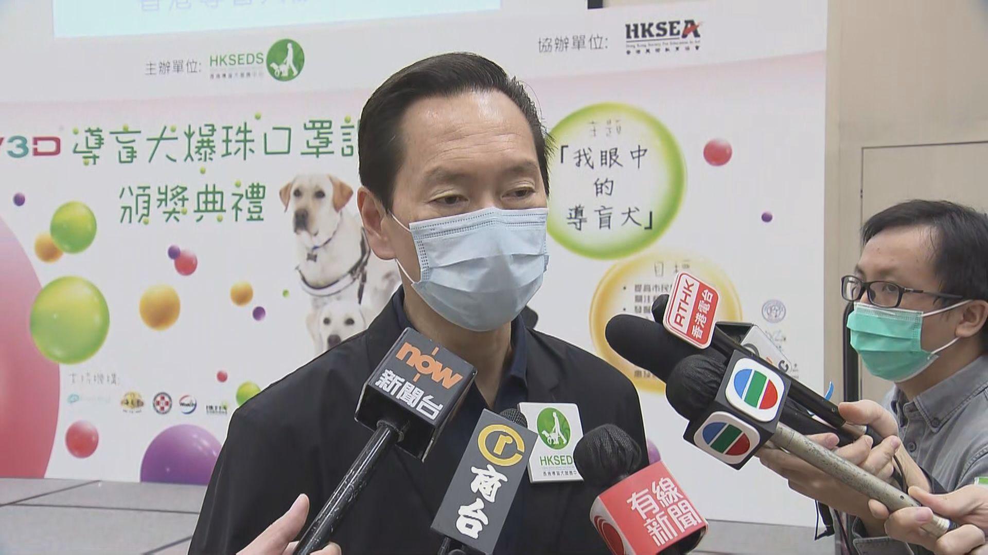 陳智思:疫苗氣泡計劃會逐步為市民提供接種誘因
