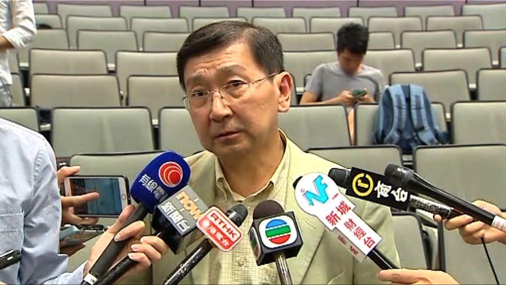 陳文敏:大學應容許討論港獨