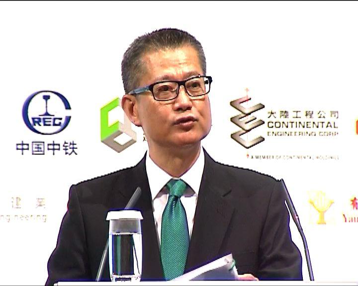 陳茂波稱正努力爭取立法會支持撥款