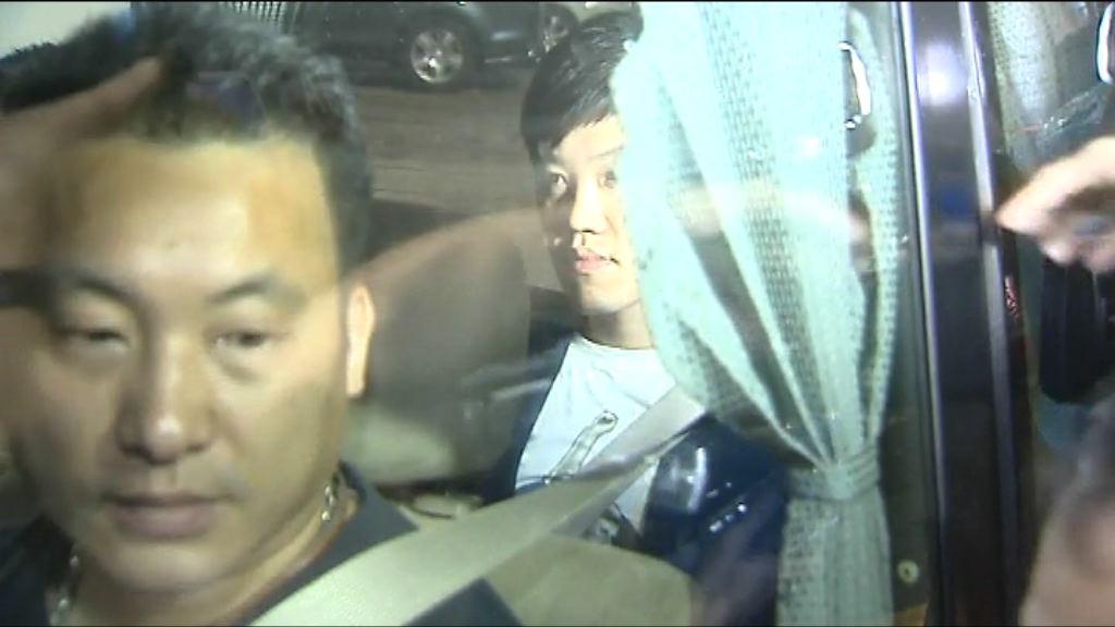 鄭松泰:多名警員拘捕他做法誇張