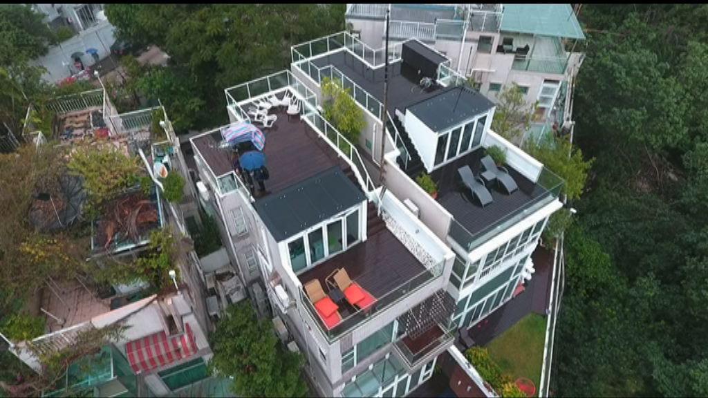 鄭若驊潘樂陶住所分別有4及5個僭建物