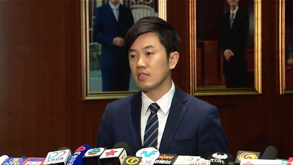 鄭松泰批評譴責議案是「欲加之罪」