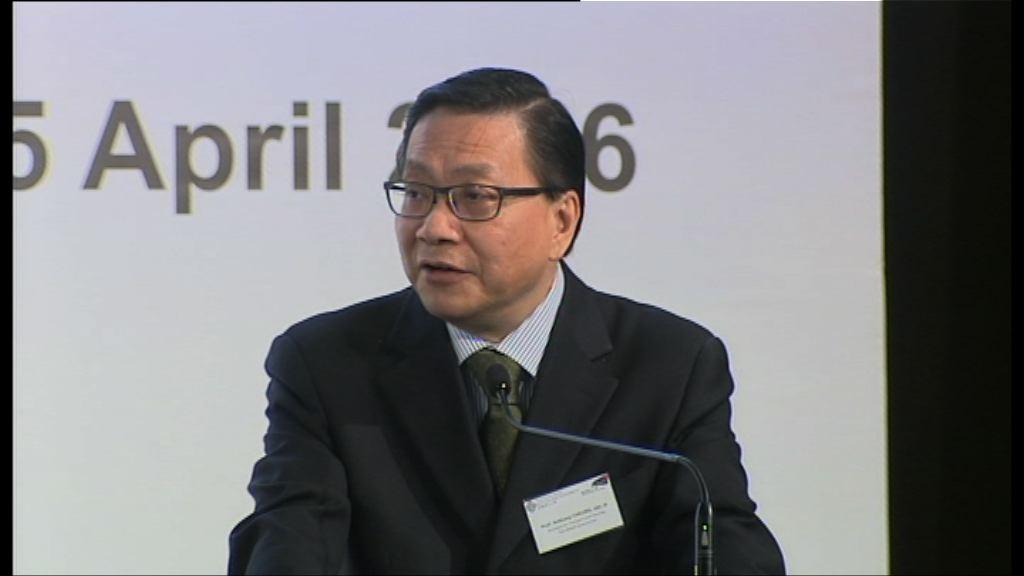 張炳良:年輕一輩對政府不信任