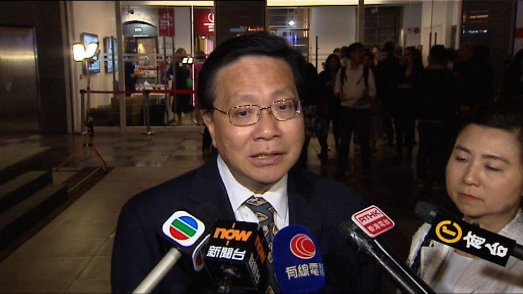 張炳良:居屋申請反映住屋需求殷切