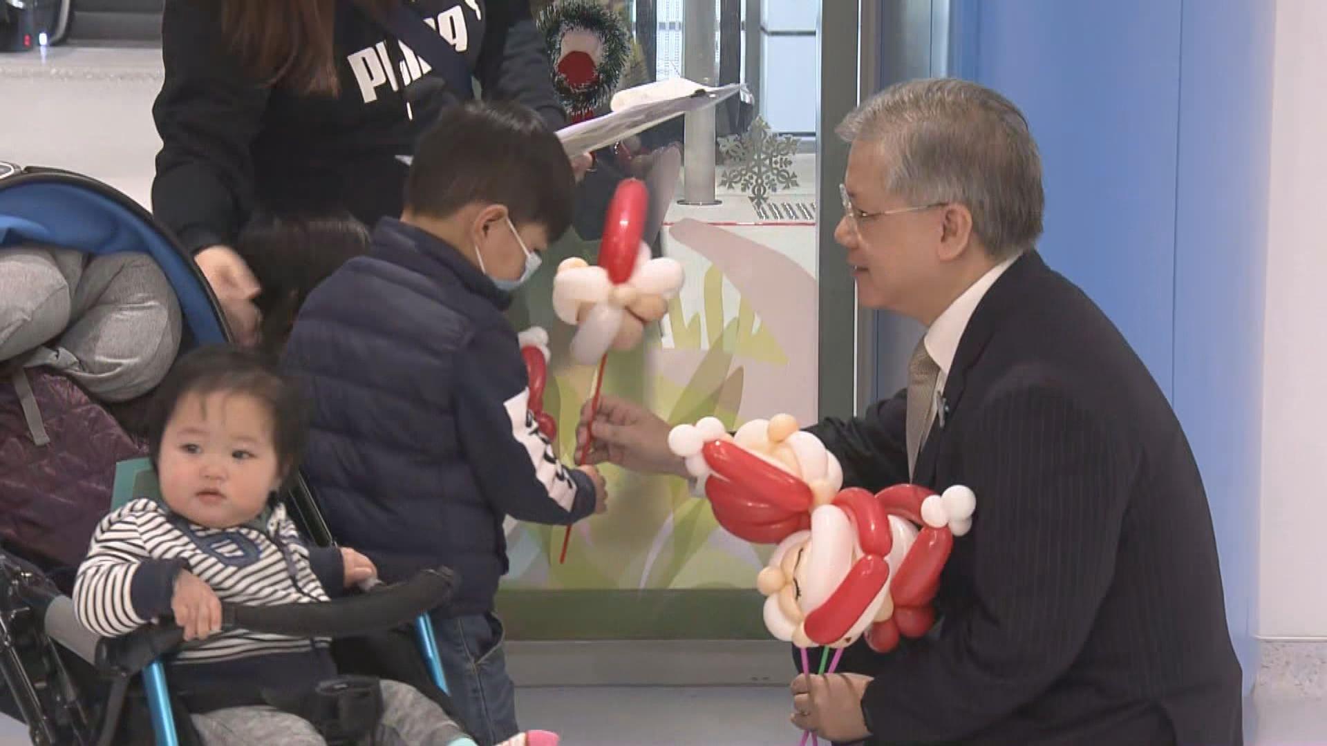 兒童醫院啟用首階段提供專科門診服務