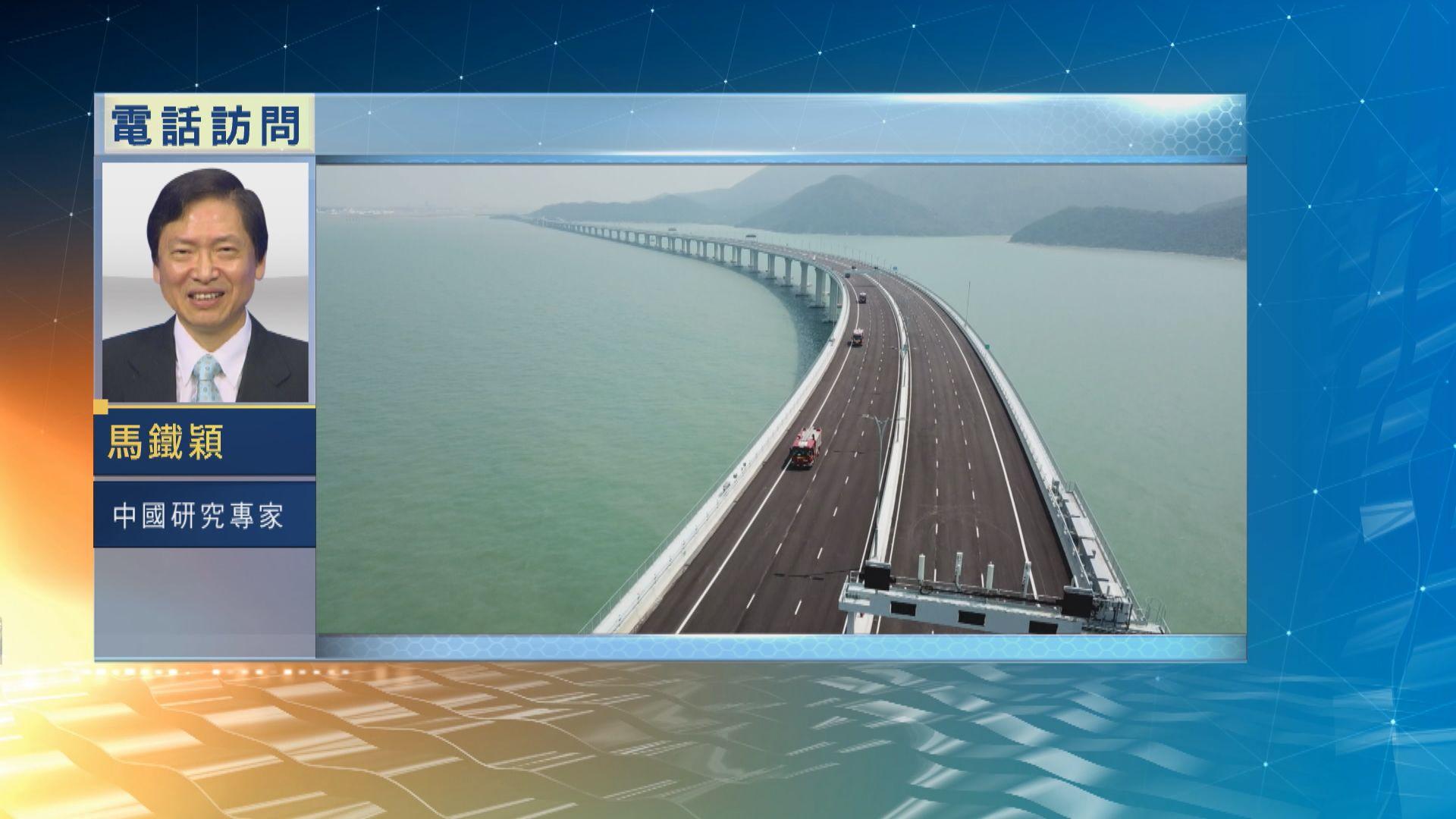 【中國評論】港珠澳大橋下周通車