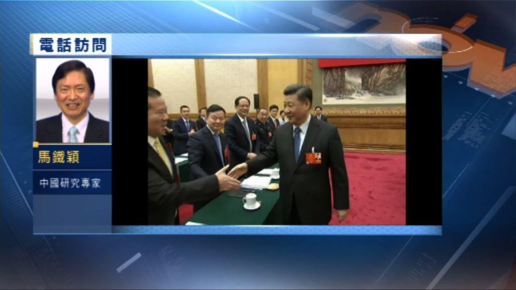 【中國評論】七政治局常委到代表團審議工作報告