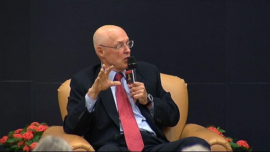 保爾森:中央已承諾改革人幣匯率