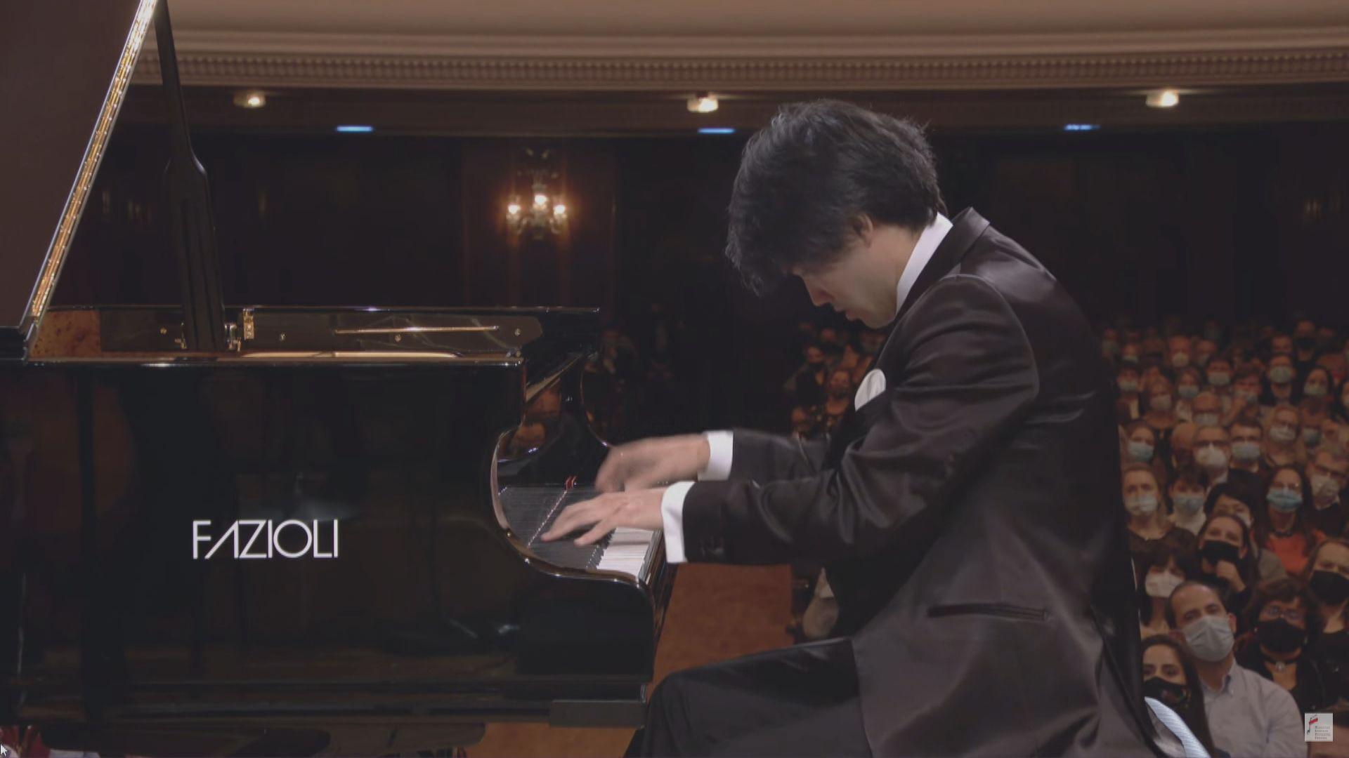 劉曉禹脫穎而出 奪蕭邦國際鋼琴大賽第一名