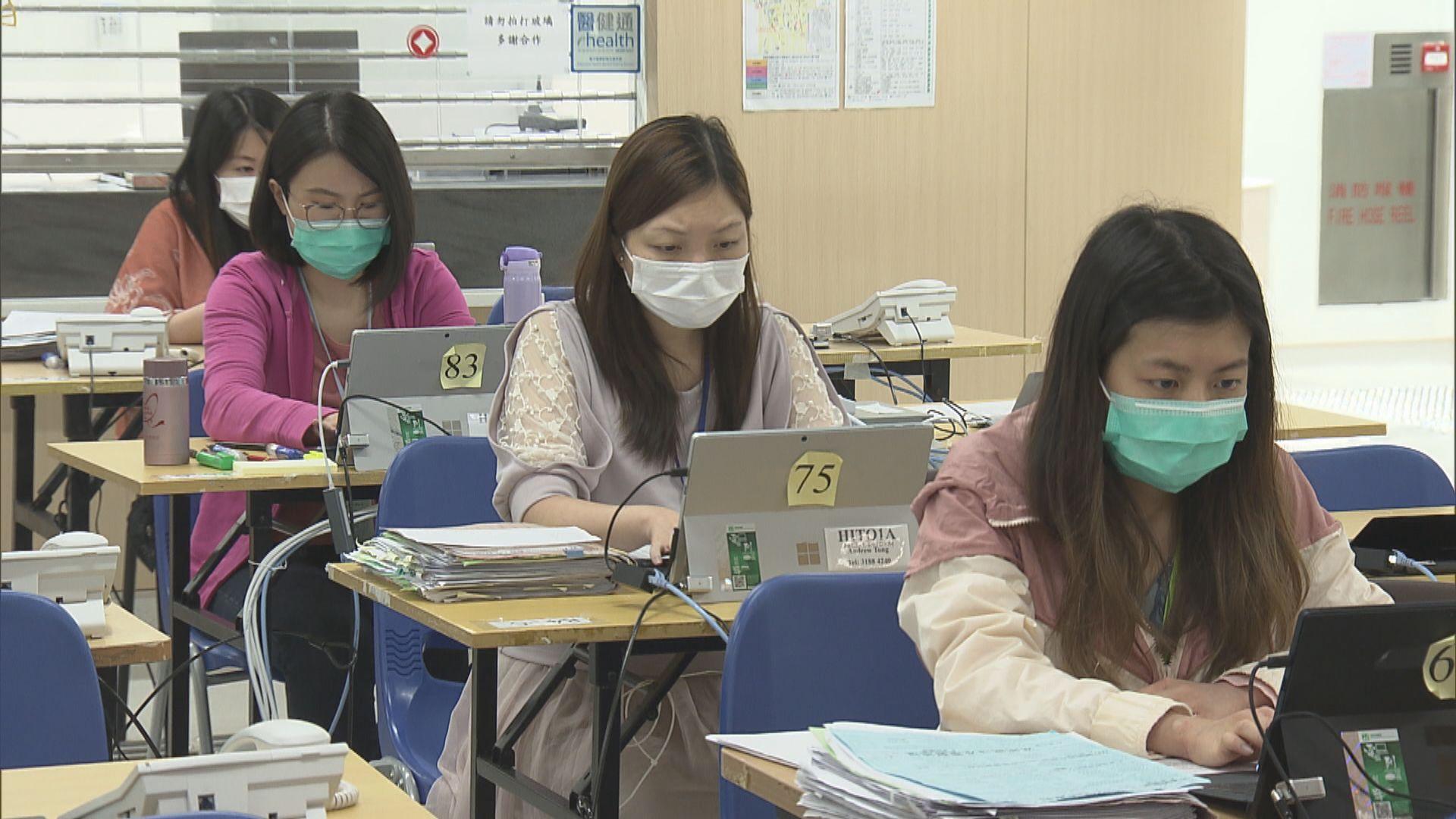 【新型肺炎】衞生署熱線中心一月至今處理逾廿萬求助
