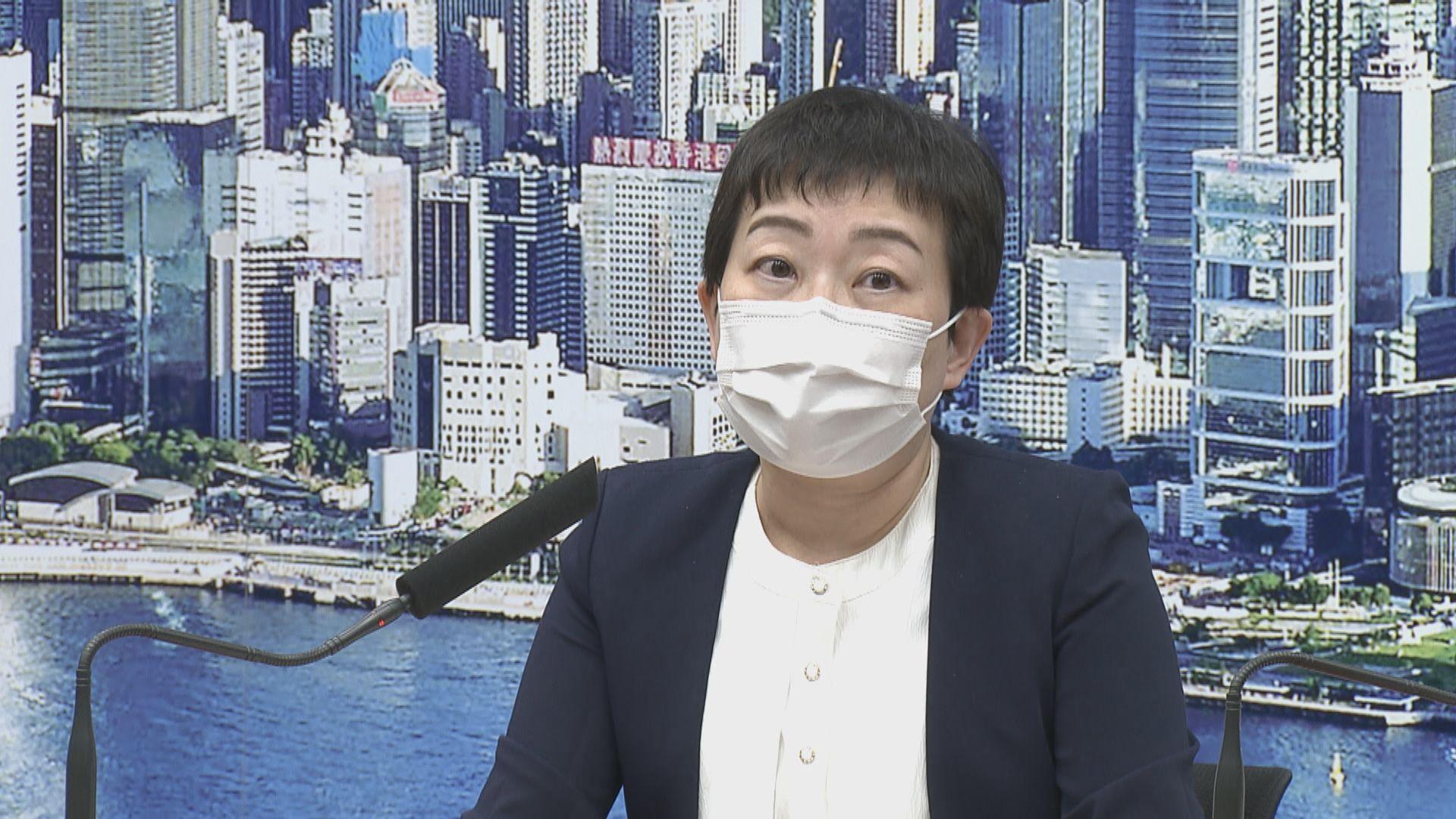 張竹君:本港無入口南韓流感疫苗