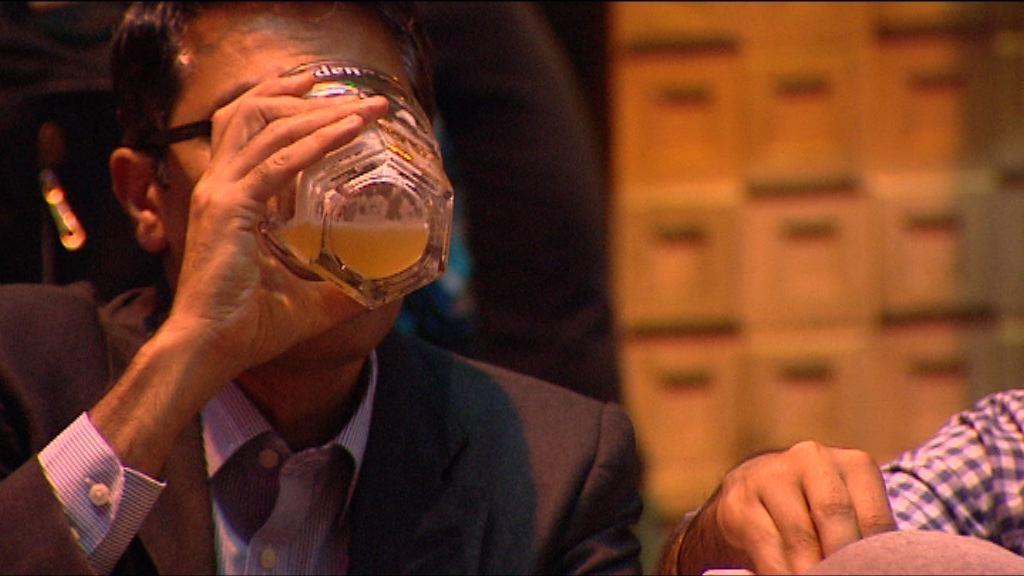 調查指逾六成人過去一年曾飲酒