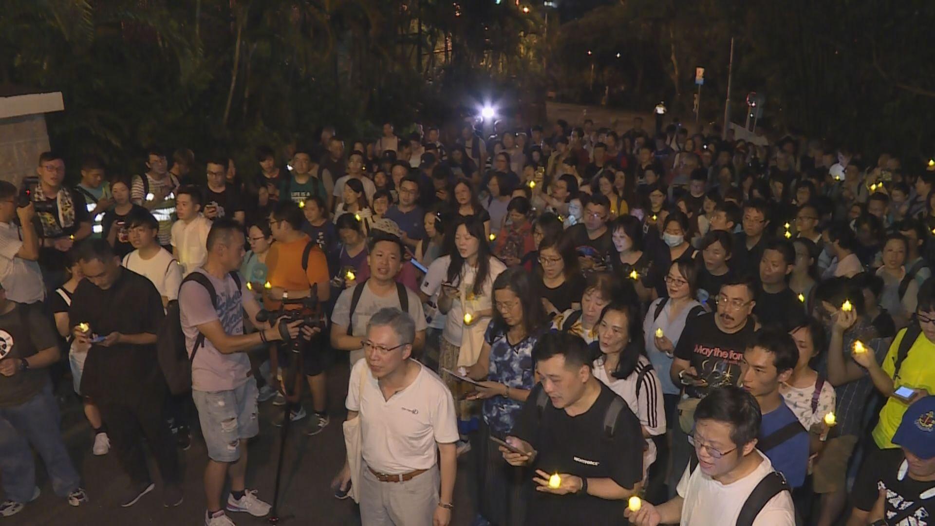 基督徒金鐘遊行冀林鄭月娥聆聽年輕人訴求