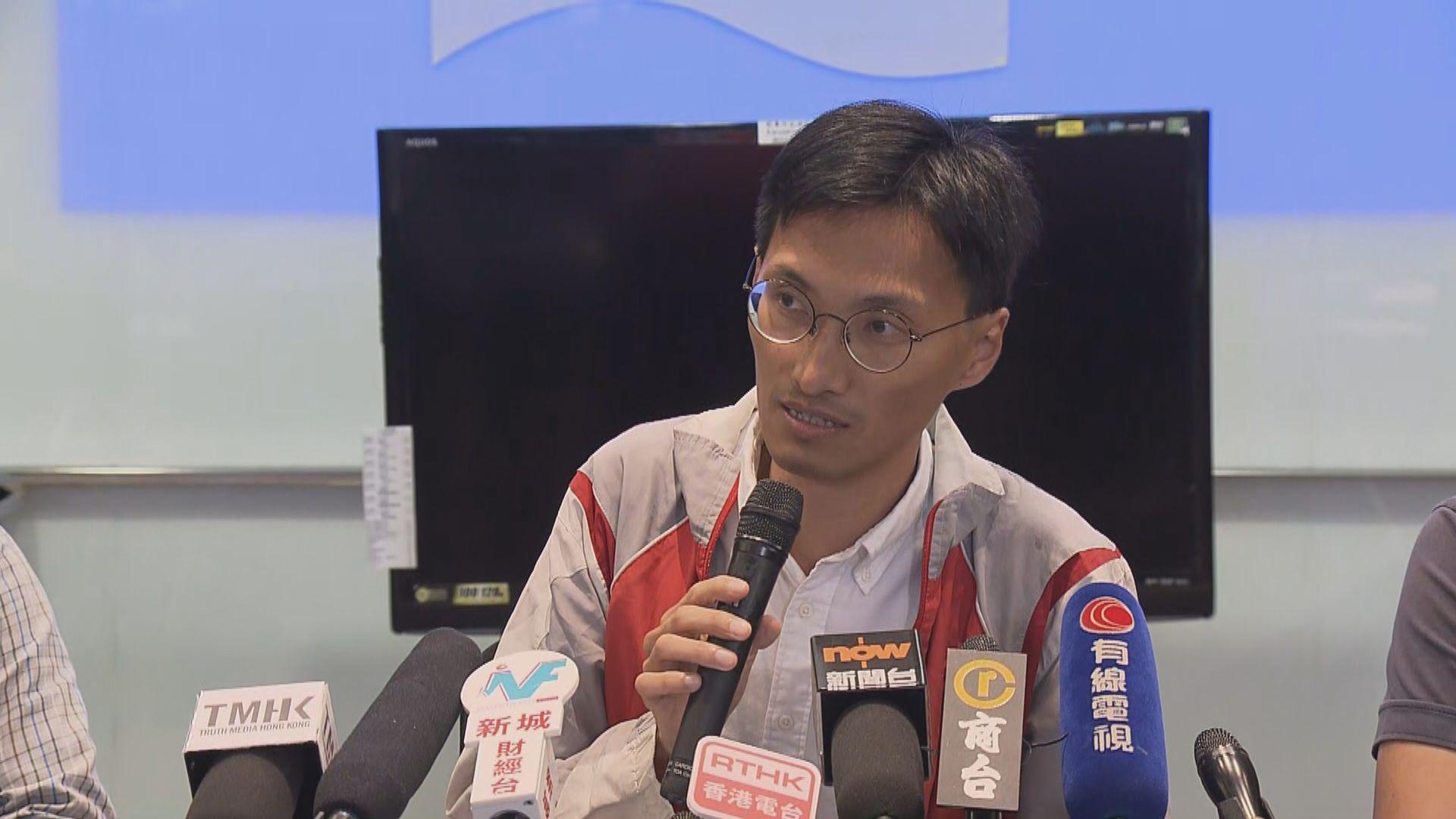 朱凱廸:收到暗殺訊息將向警方報案