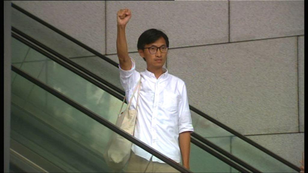 朱凱廸指受人身威脅到警總報案