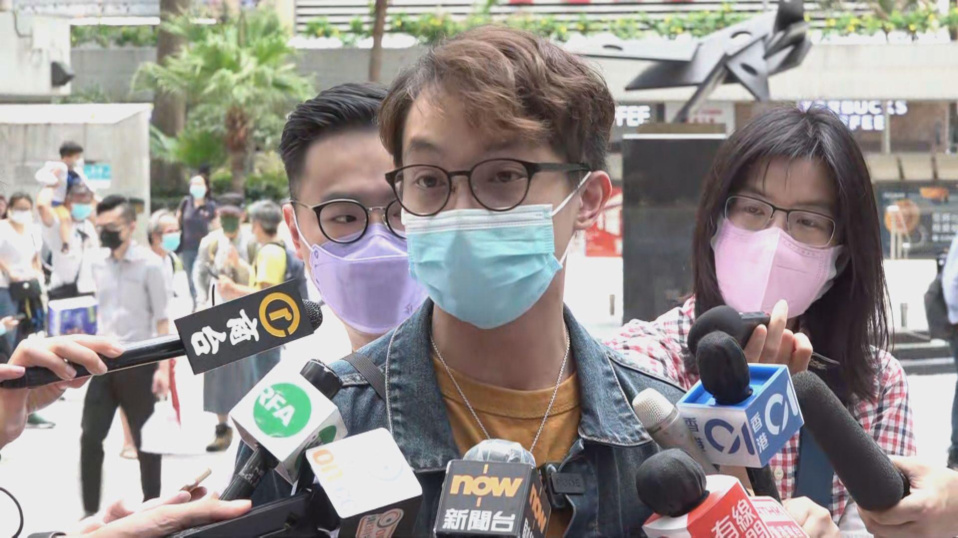 陳皓桓:不會逐一回應警方就民陣涉違《社團條例》提問