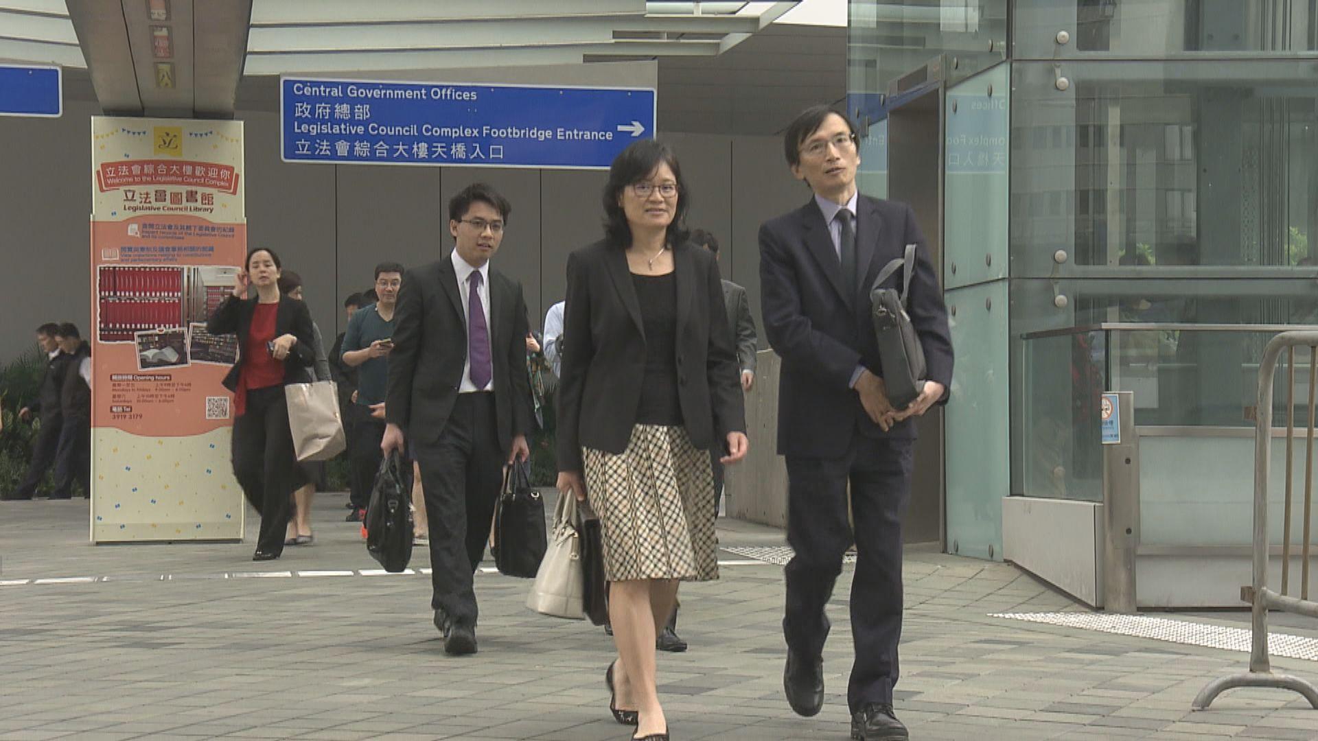 四公務員團體支持可解僱因非法活動被捕新公務員