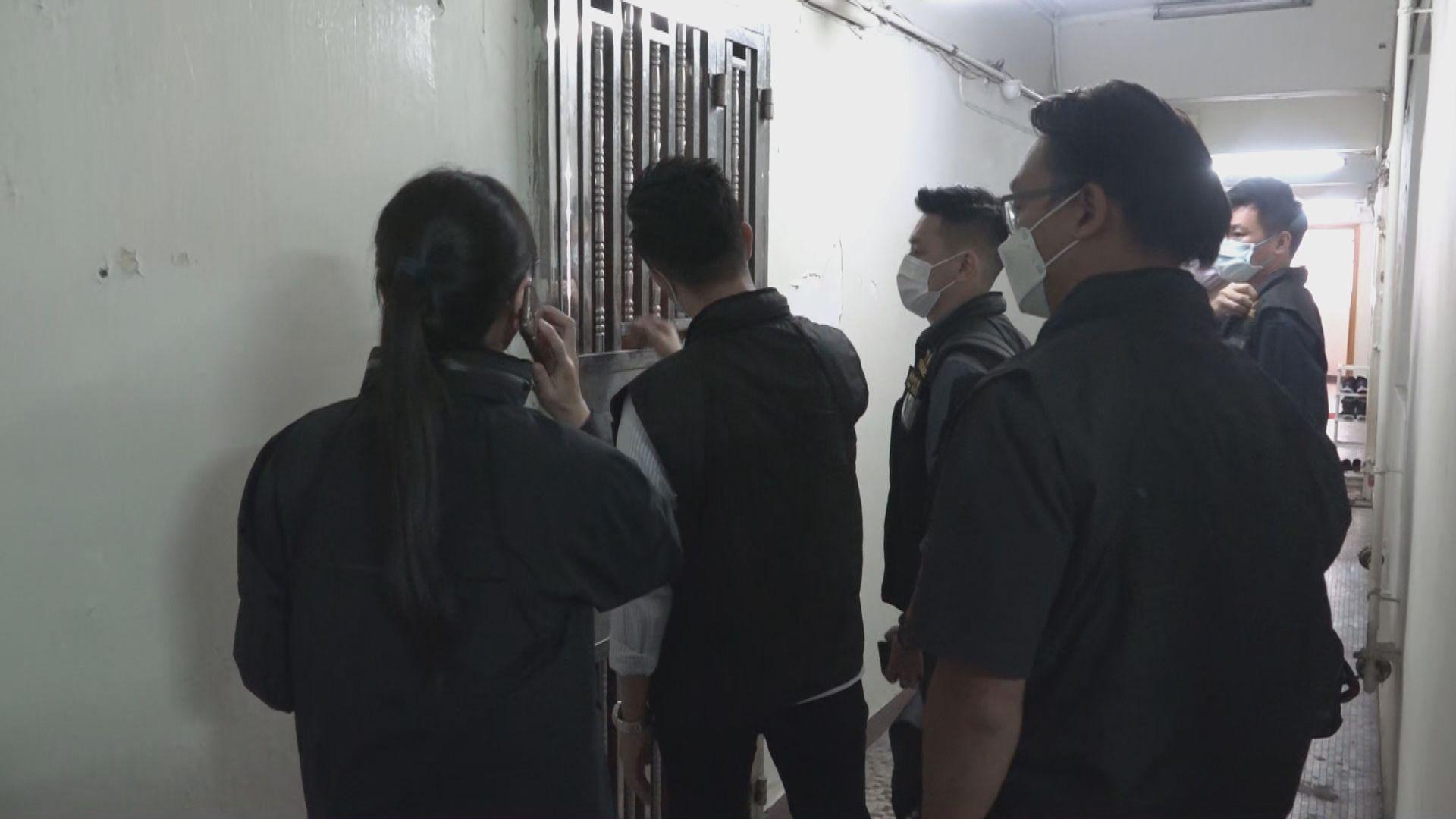 警方搜查與民陣相關四個地點 涉早前未有提供資料