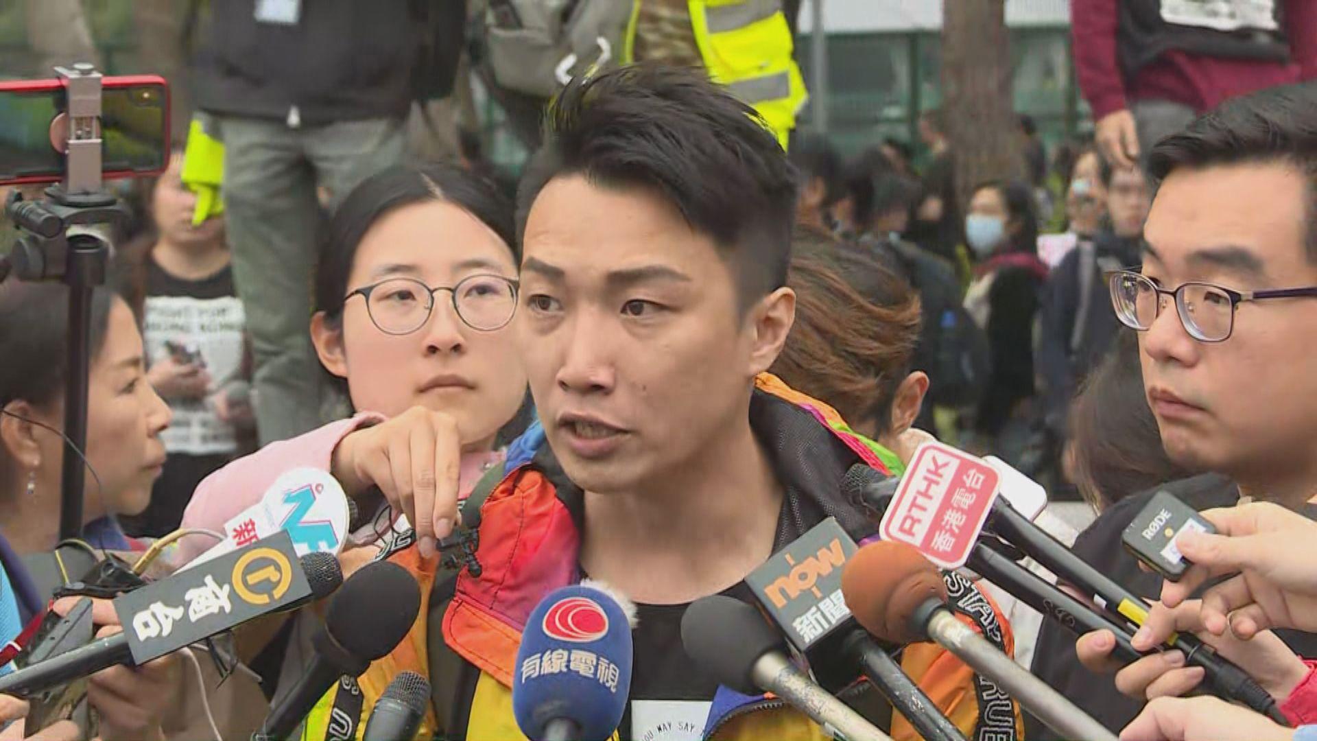 民陣派出200名糾察沿途維持秩序