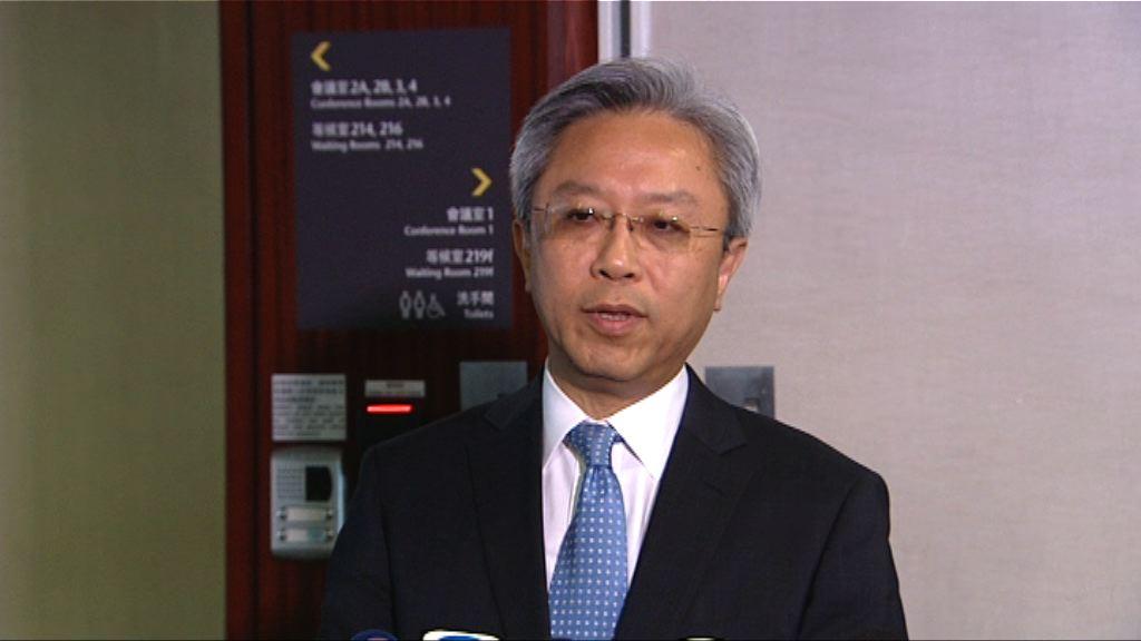 羅智光冀公務員加薪暑假前通過