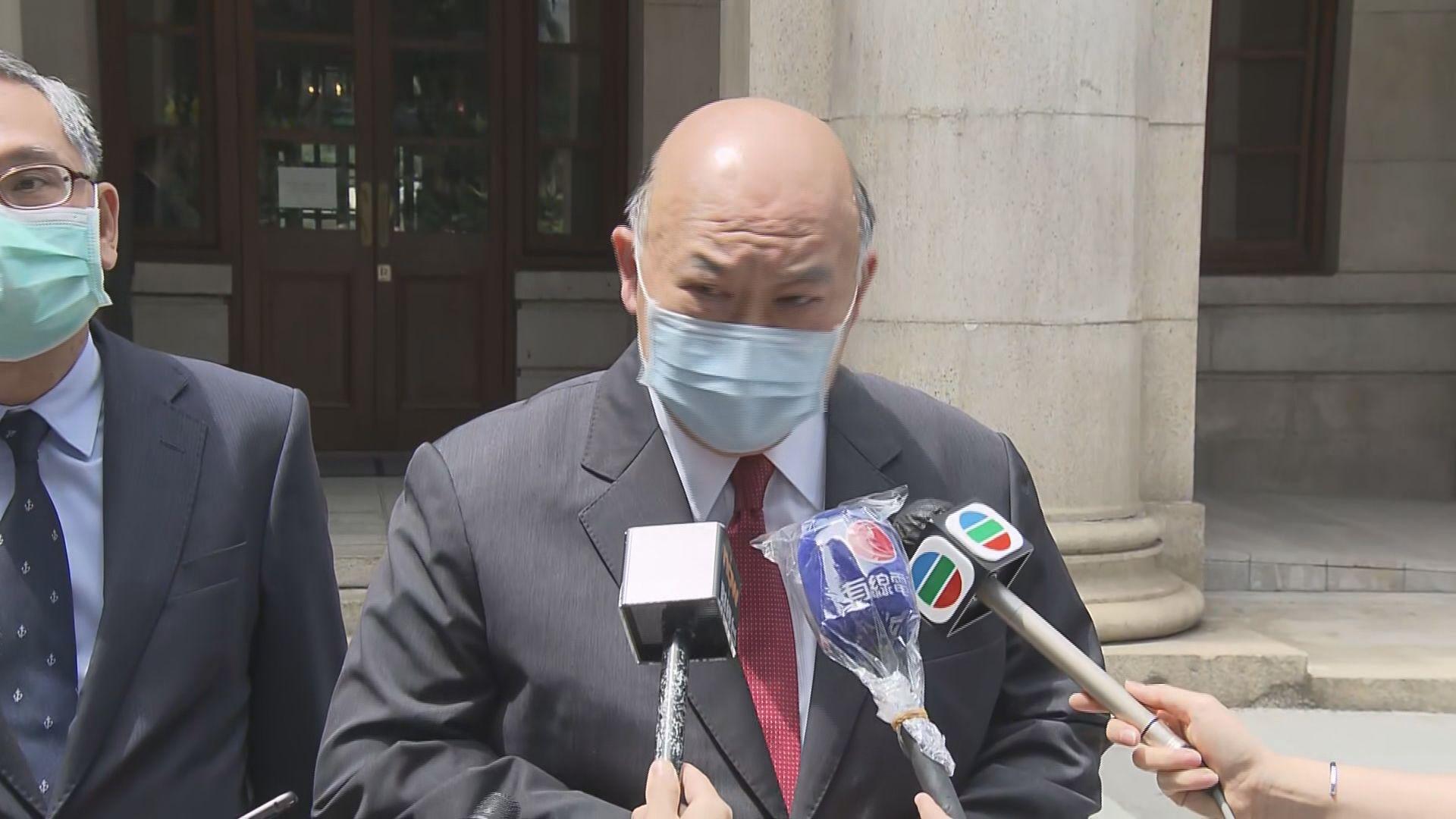馬道立︰司法機構正研究如何應對疫情