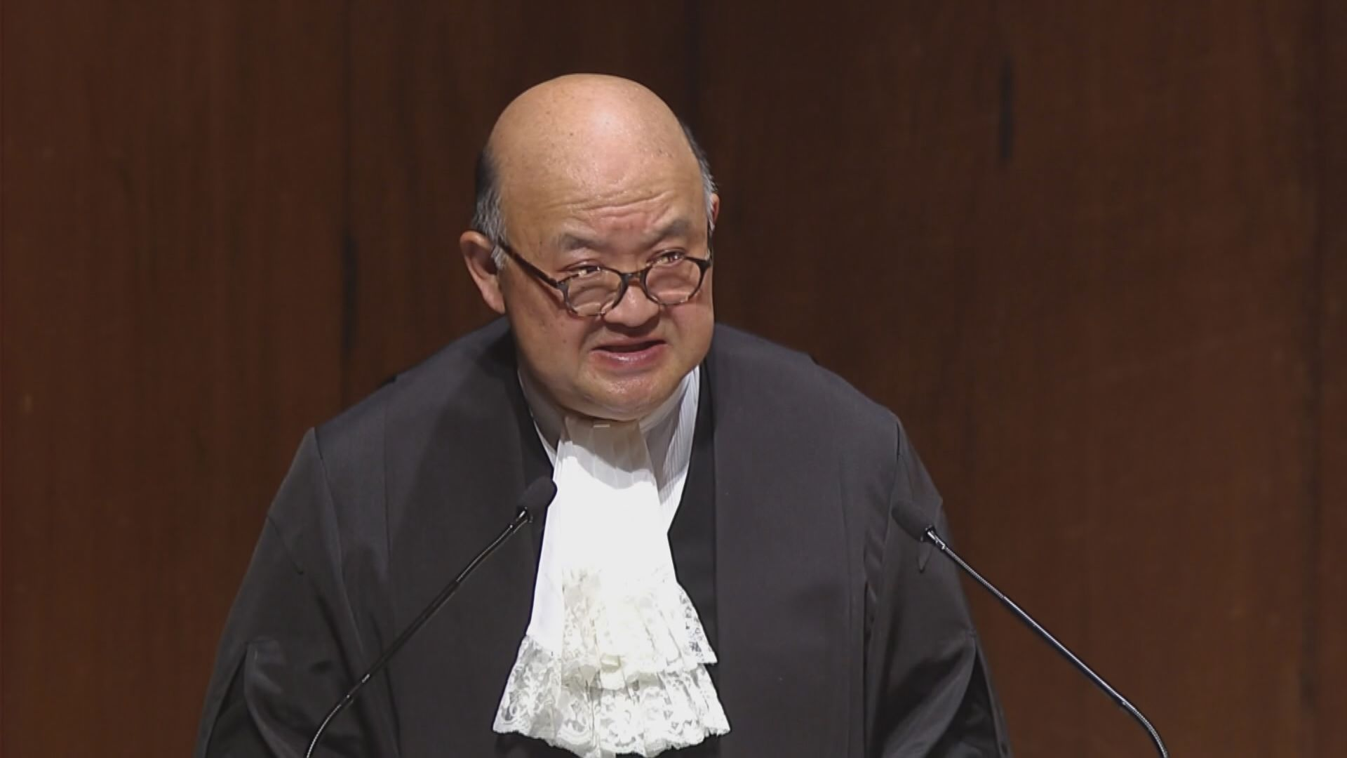 馬道立︰法律界有責任在法治受損時挺身而出
