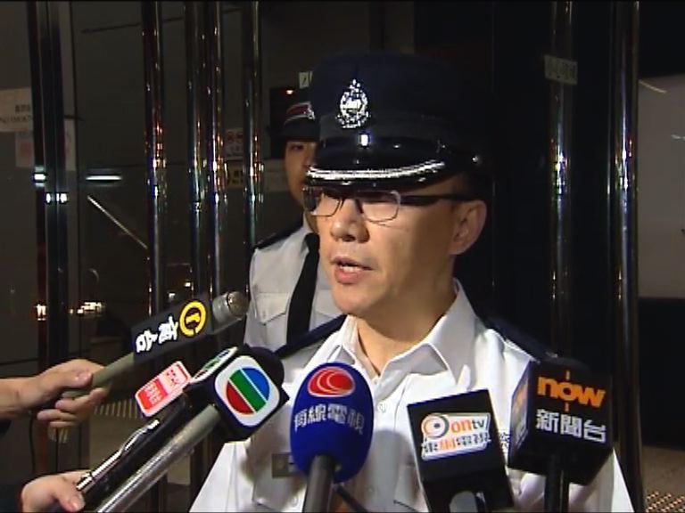 警方屯門拘四人 一名警員受傷