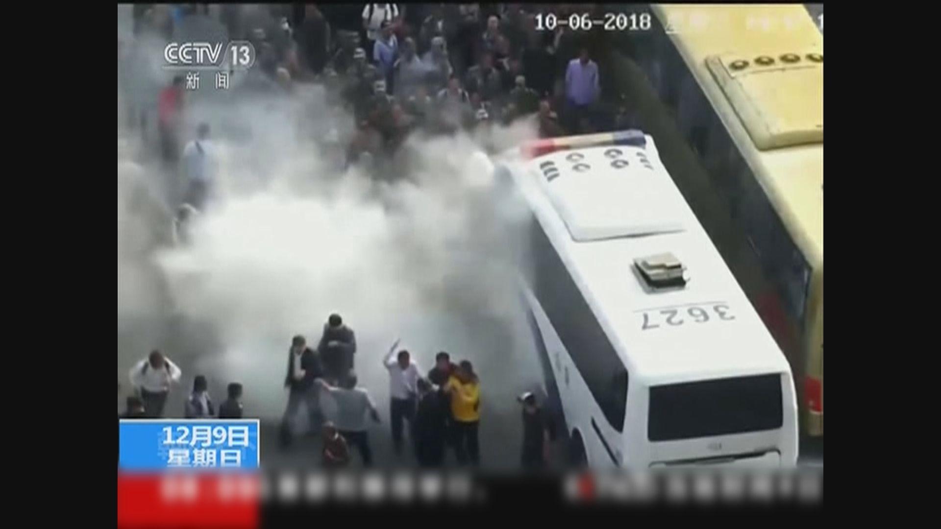 山東平度市騷亂公安拘十名疑犯