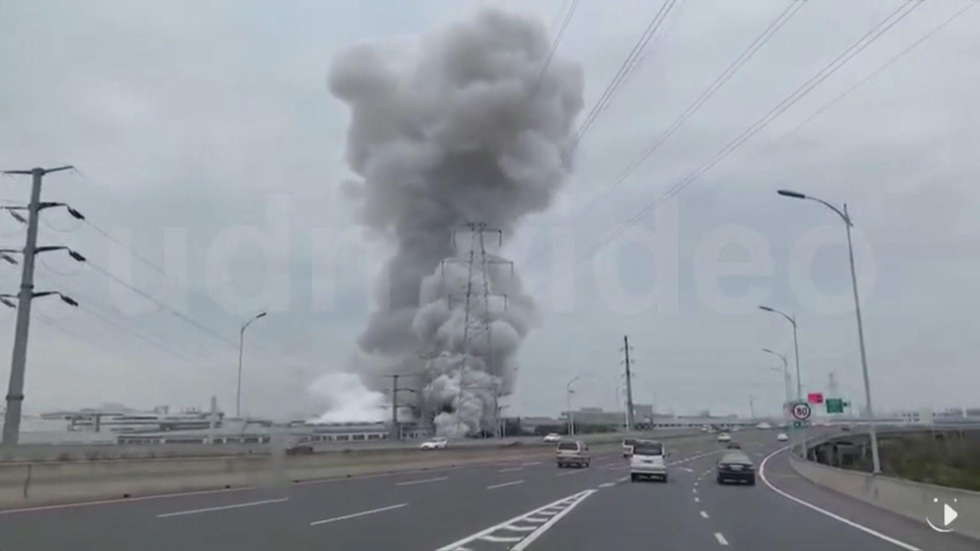 江蘇昆山台資廠房發生燃爆致7死多傷