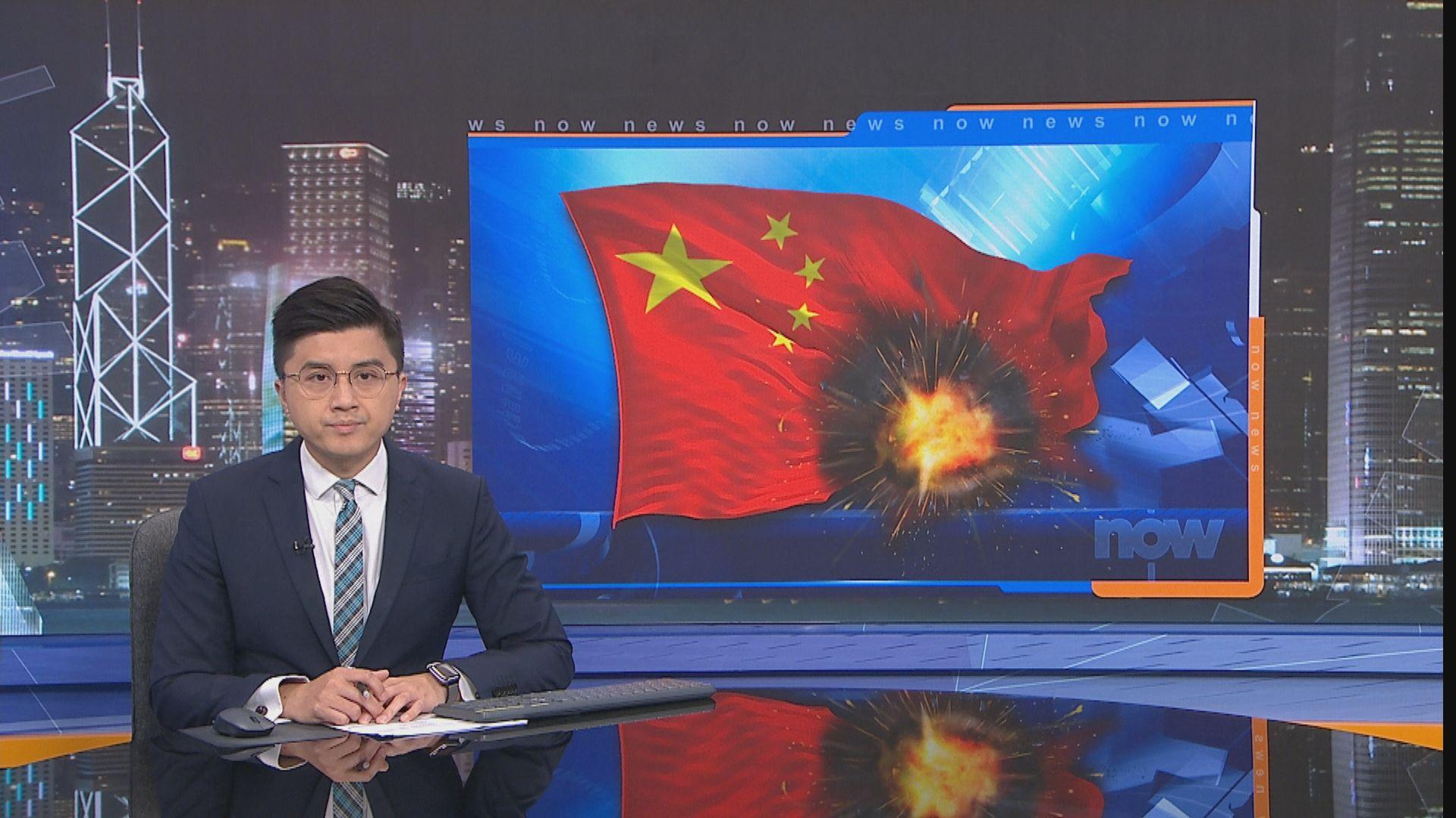 浙江溫嶺油罐車爆炸令建築物倒塌 至少4死50傷
