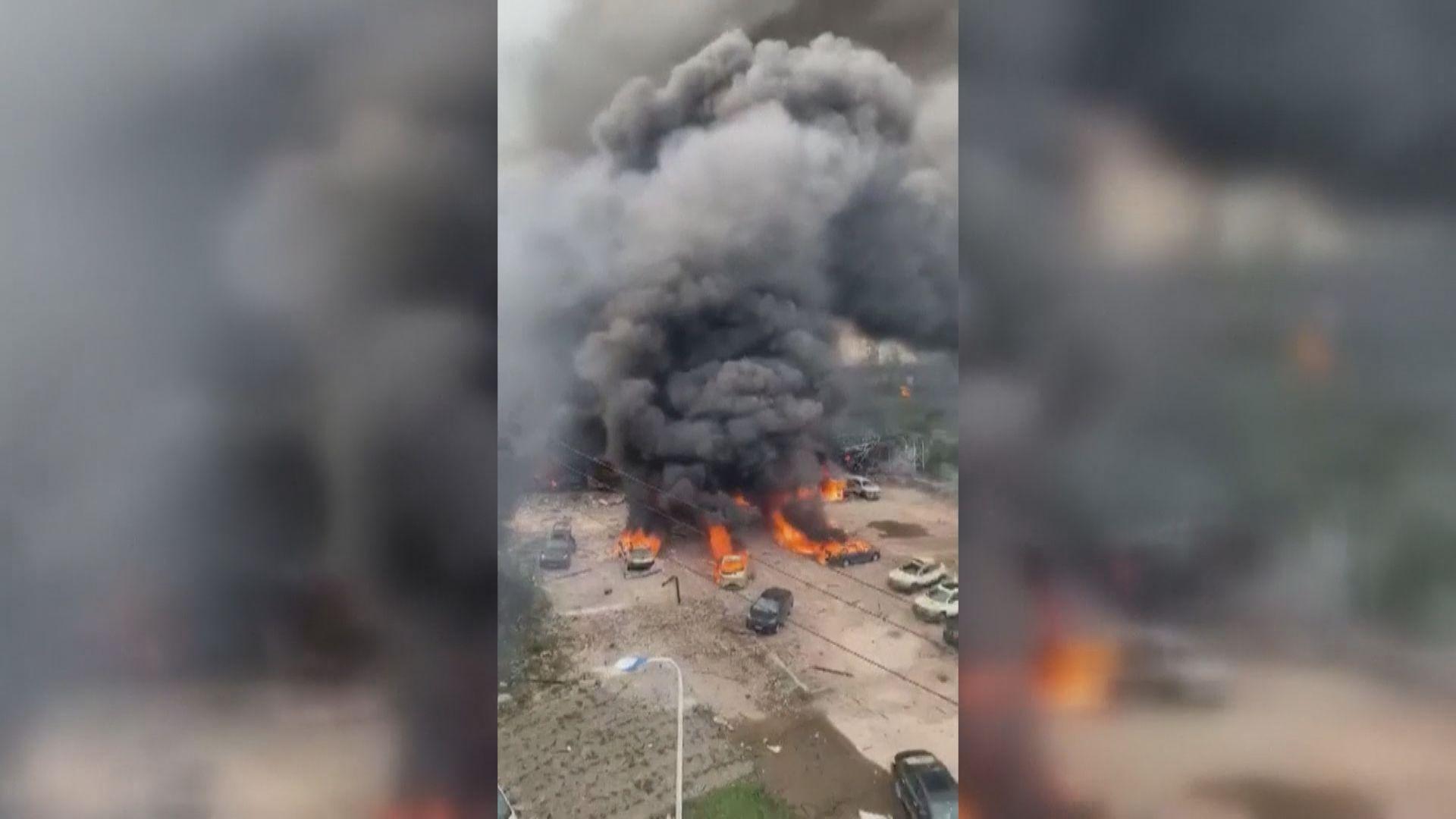 浙江溫嶺有油罐車爆炸 釀逾百人死傷