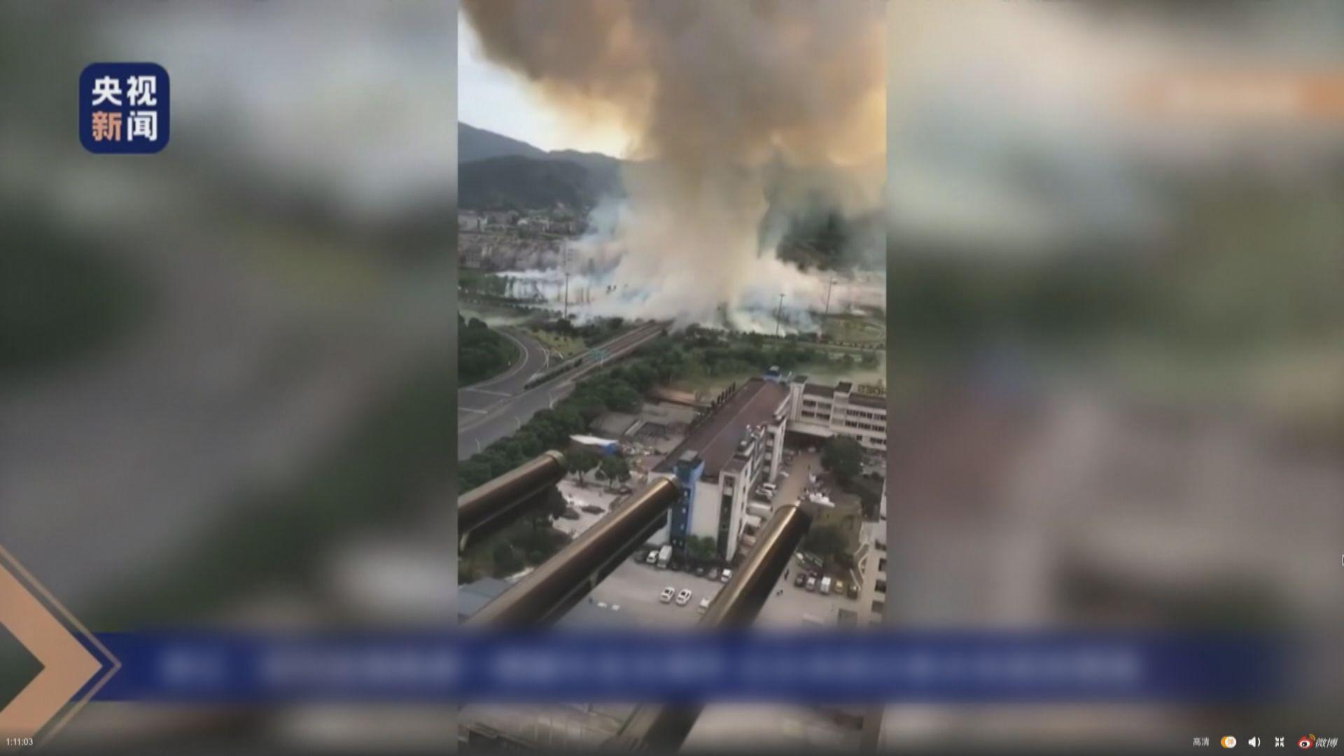 浙江溫嶺油罐車爆炸事故增至19死