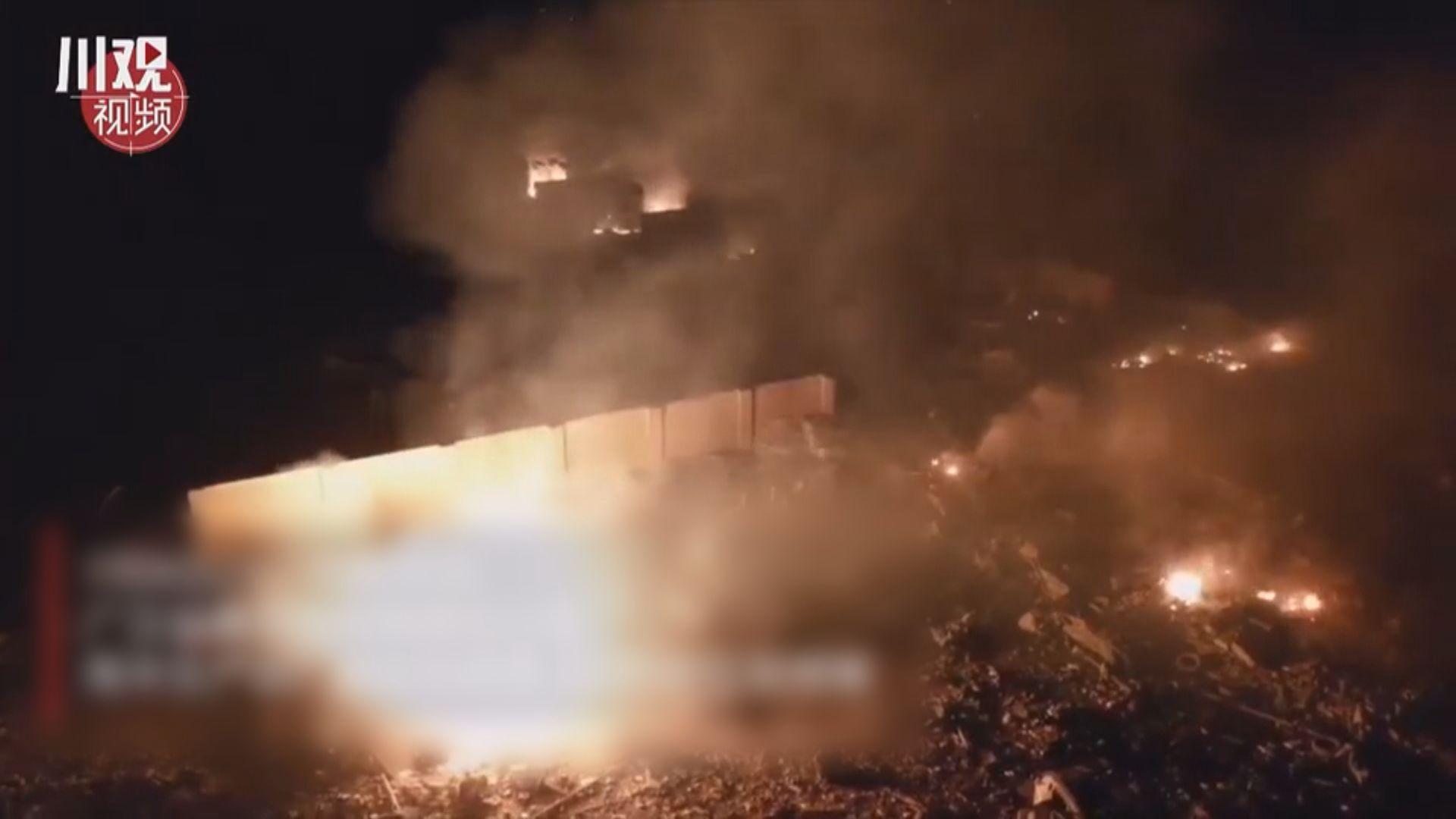 四川鞭炮廠爆炸六人傷 多幢民居損毀