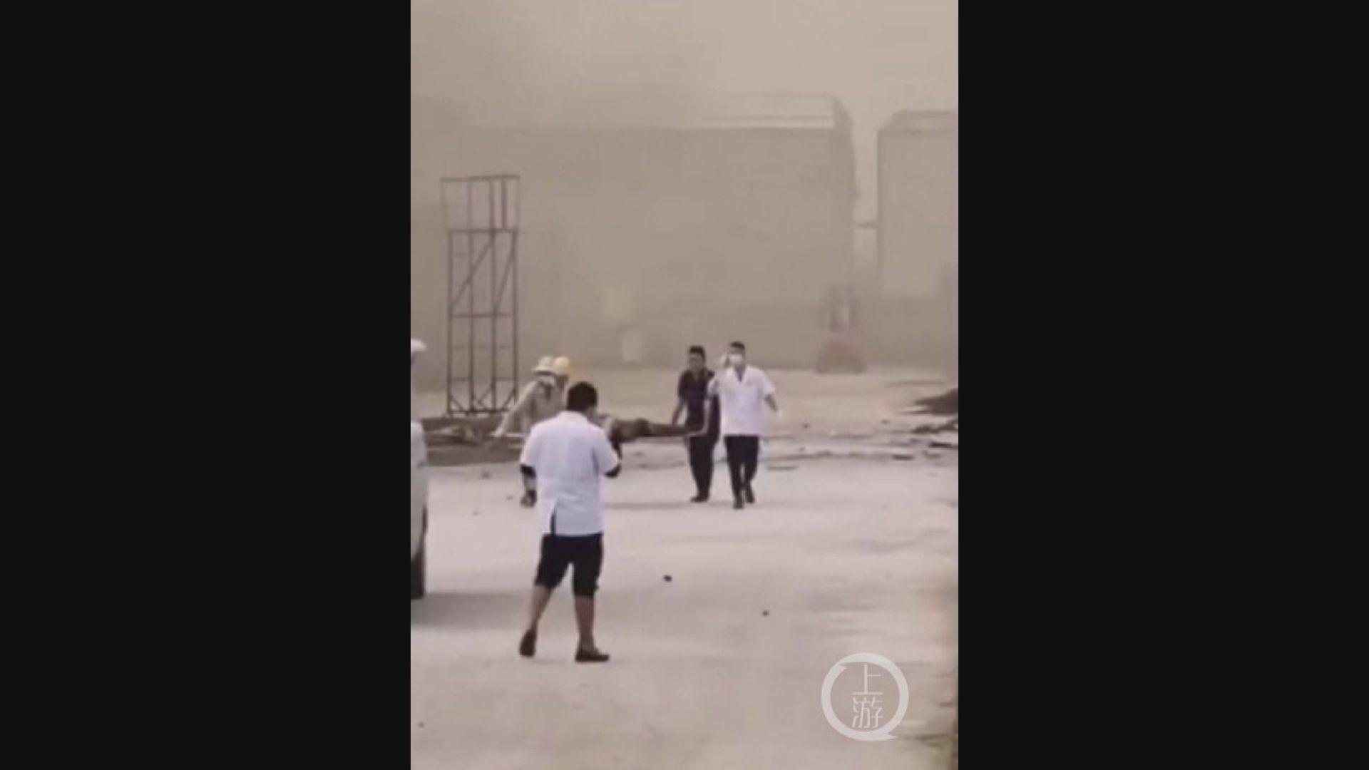 湖北化工廠爆炸至少五死一傷