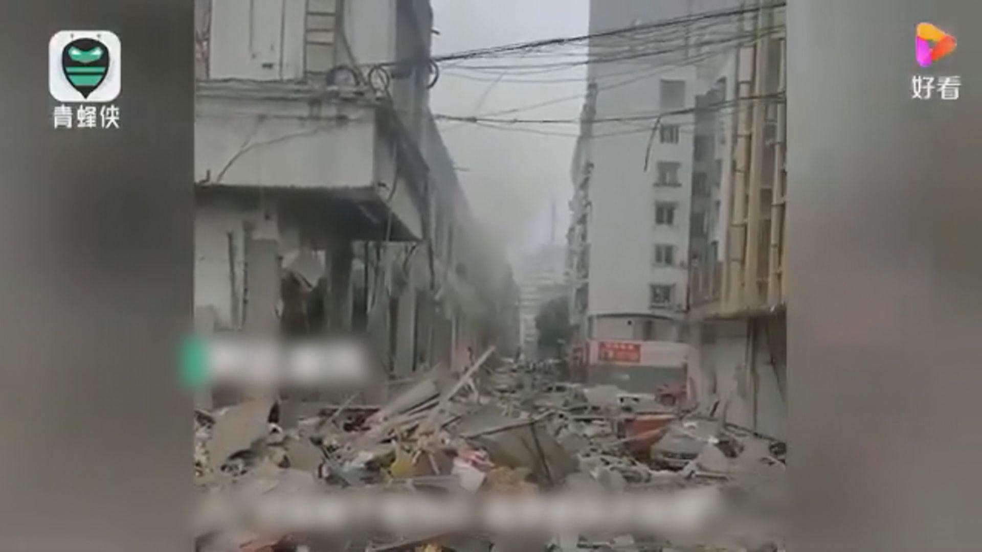 湖北十堰市燃氣爆炸12死逾百傷 當地成立救援指揮部