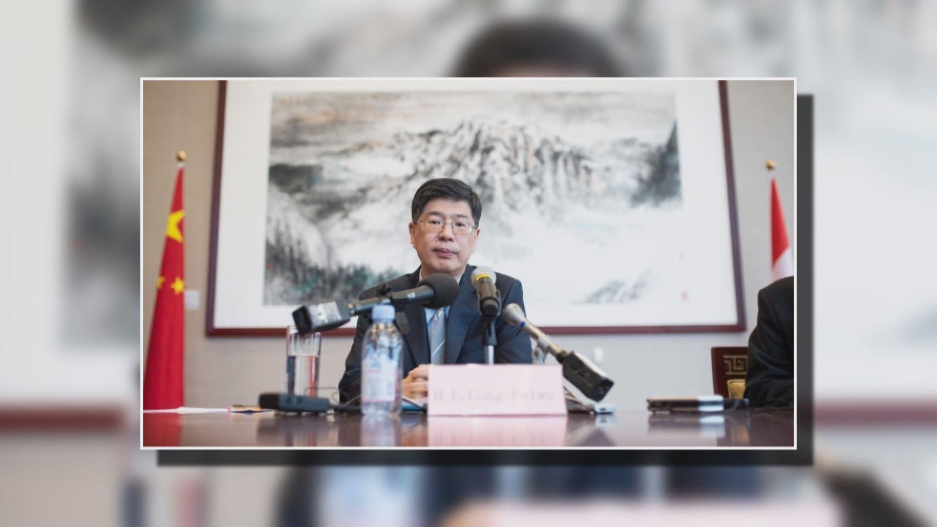 中國駐加大使:加拿大勿支持香港示威者