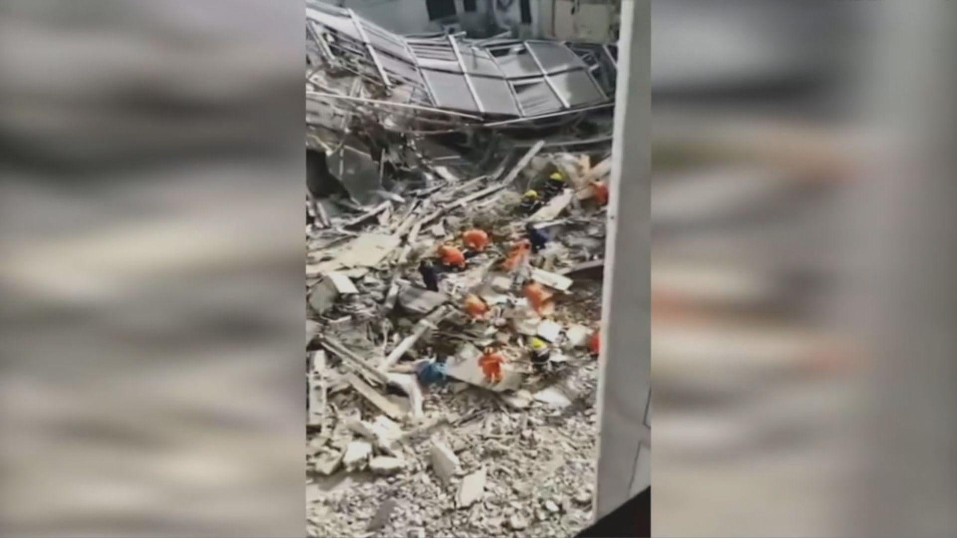 江蘇一間酒店倒塌 最少一死七傷多人失蹤