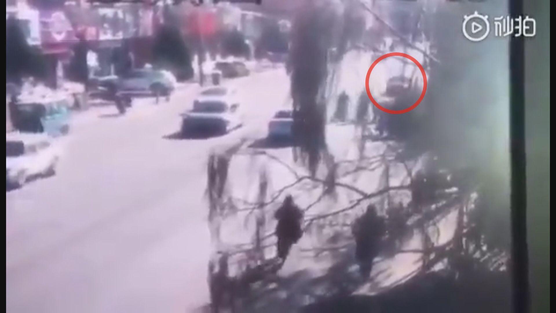遼寧有學生遭私家車撞倒釀6死17傷