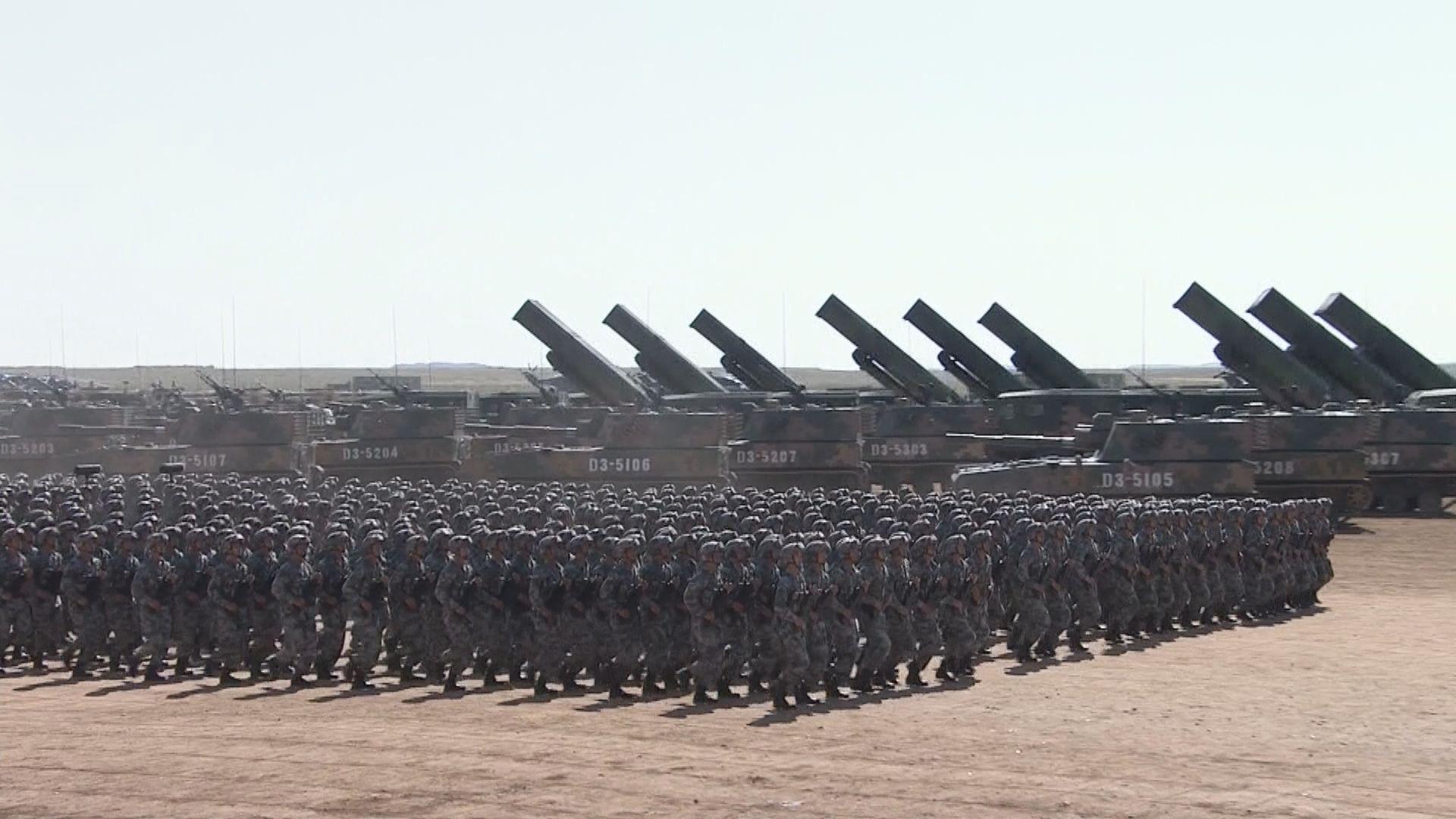 中國軍費今年增長6.8% 用途包括加快武器裝備升級