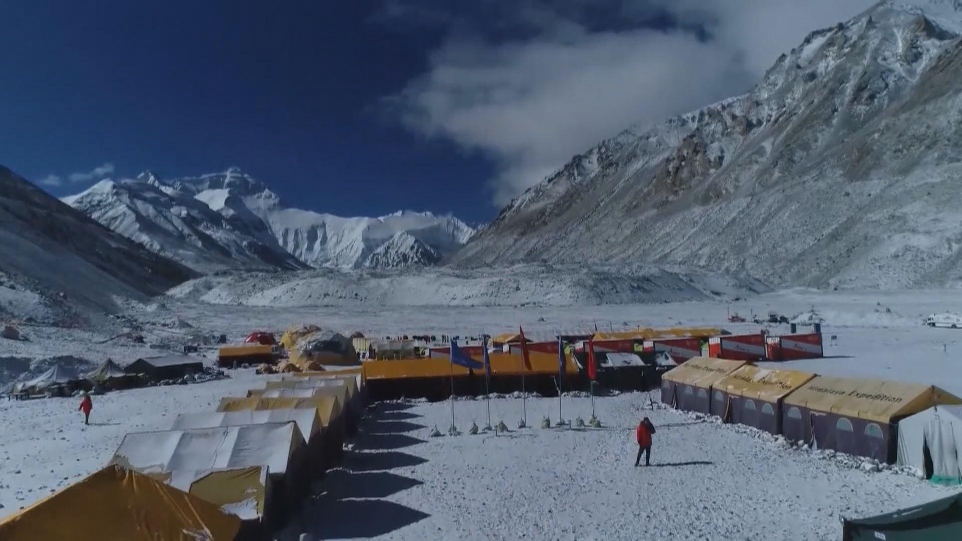 中國取消春季珠峰北坡登山活動