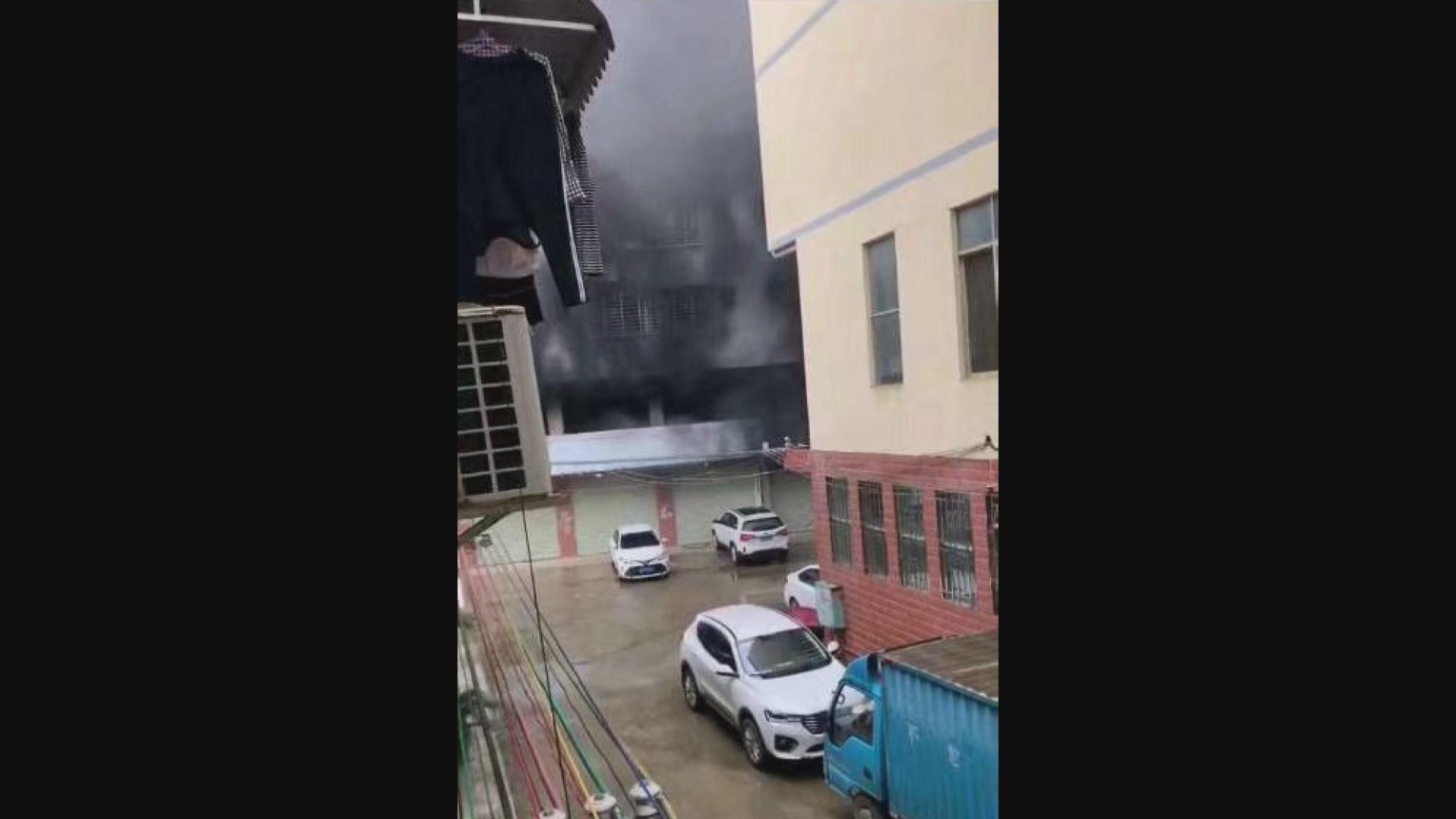 桂林住宅大火至少五死、三十人傷