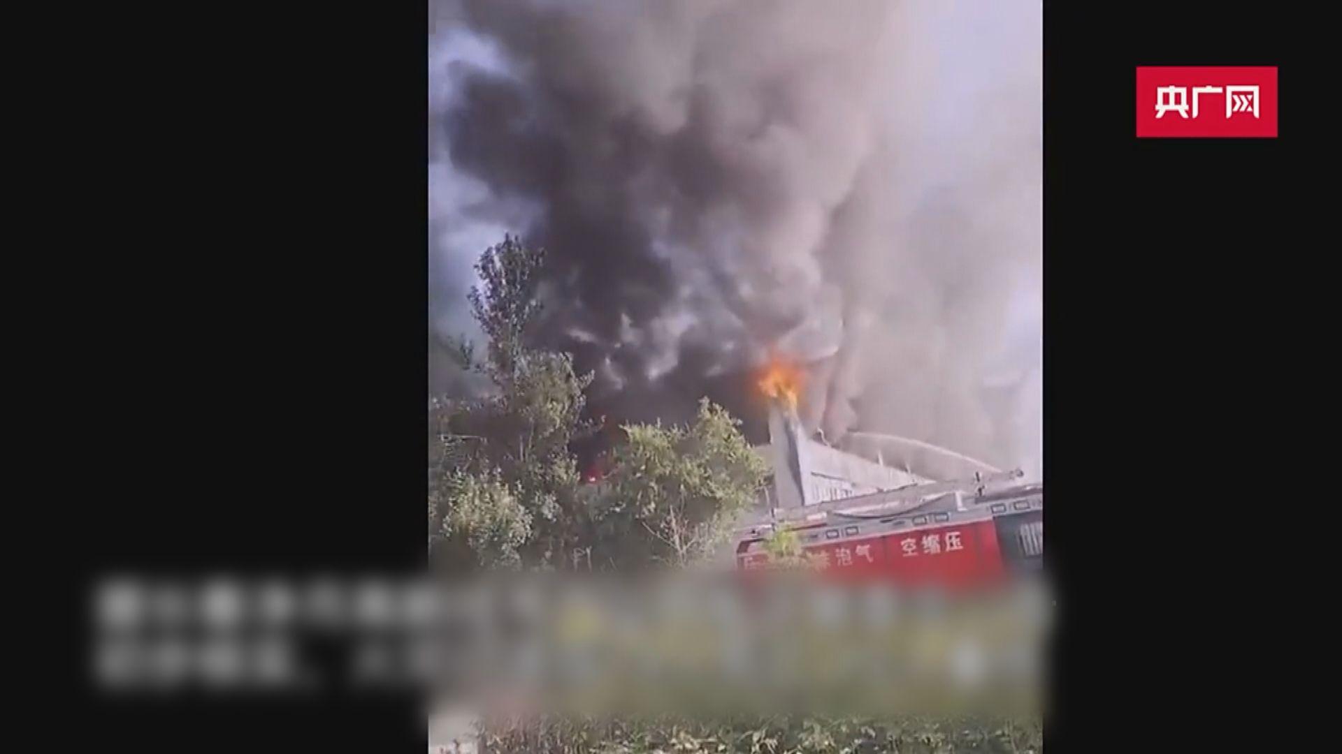 吉林長春物流倉火災 最少14死多人傷