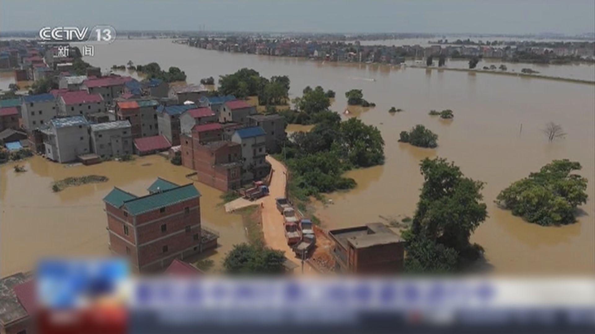省防汛抗旱指揮部預計長江幹流將現洪峰 促五市做好撤離工作